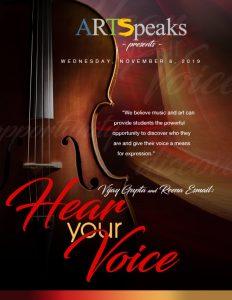 Hear Your Voice: Vijay Gupta and Reena Esmail