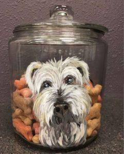 Pinot's Pet Treat Jar