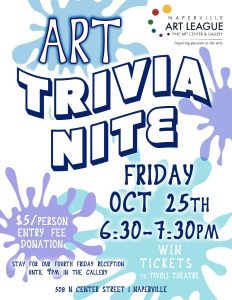 Art Trivia at NAL!