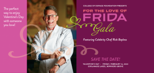For the Love of Frida Gala featuring Chef Rick Bay...