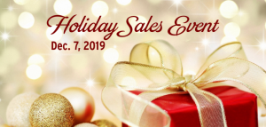 McAninch Arts Center Holiday Sales Event