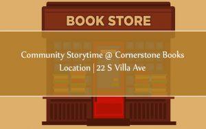 Community Storytime @ Cornerstone Books