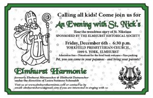 An Evening with St. Nick's