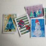 DIY Holiday Notecards