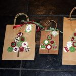 Holiday Gift Bag Decorating