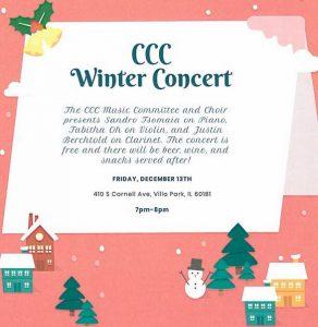 CCC Winter Concert