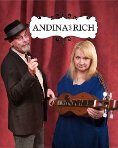 Andina and Rich at Two Way Street Coffee House