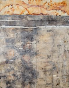 Art Demonstration: Encaustic Collage