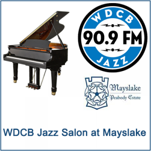 WDCB Jazz Salon at Mayslake: Elmhurst College Jazz Band directed by Doug Beach CANCELED