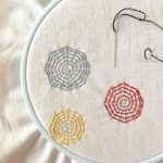 Colorful Webs, An Embroidery Class