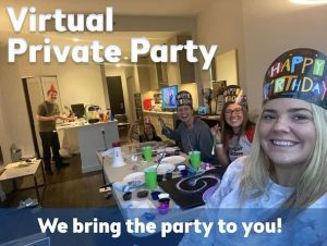 Virtual Painting Parties at Pinot's Palette!
