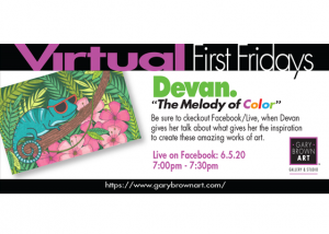 Virtual First Fridays: The Melody of Color