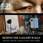 Join Water Street Studios' Gallery Curator, Steve Sherrell, for a virtual get together