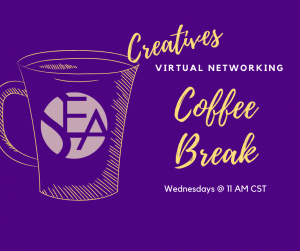 Virtual Networking Coffee Breaks for Creatives