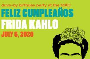Frida Kahlo's Drive-by Birthday Celebration