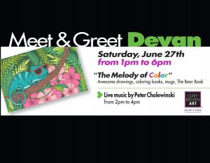 Meet & Greet Artist Devan and Author Sara Sommer
