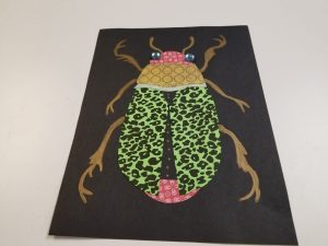 Scarab Beetle Collage (in person)