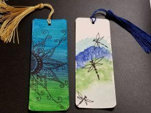 Watercolor Bookmarks (4th-6th grades, in person)