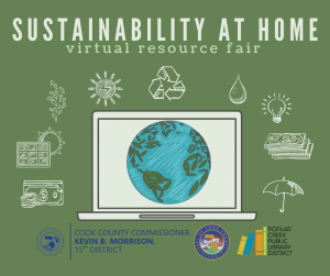 Sustainability at Home (Online; All Day)