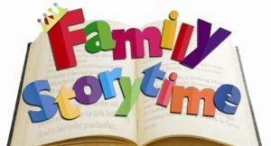 Family Storytime (Ages 3-6 with caregiver)