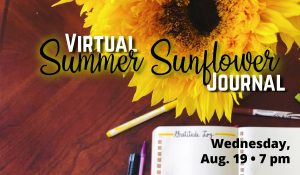 Summer Sunflower Journal