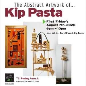 The Abstract Artwork of Kip Pasta