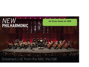 New Philharmonic's Streamed Concerts: Holiday Sing-Along with the Symphony