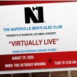 Naperville Men's Glee Club - Live Steaming Concert