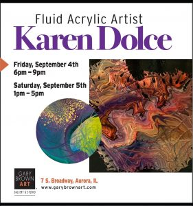 Karen Dolce's Art Debut at Gary Brown Art Gallery