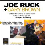 Opening Reception: Joe Ruck at Gary Brown Art Gallery
