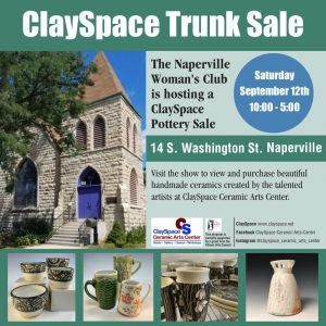 Naperville Woman's Club hosts a ClaySpace Ceramic ...