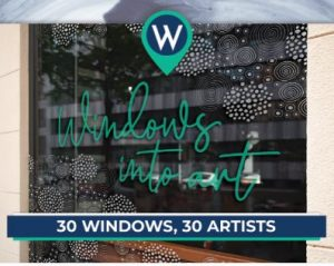 Call for Artists: Window Art Celebrating Arts & Humanities Month
