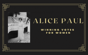 Leslie Goddard as Alice Paul