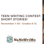 Teen Writing Contest: Short Stories!