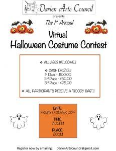 The Darien Arts Council Virtual Halloween Costume ...