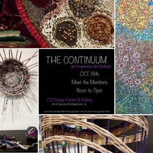 Artist' Reception: THE CONTINUUM : ART EXHIBIT