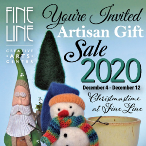 Artisan Gift Sale Christmastime at Fine Line