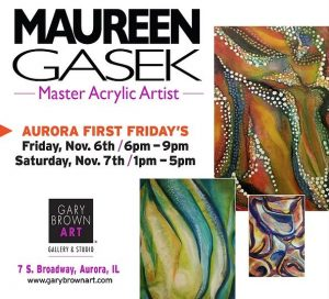 Opening Reception: Maureen Gasek at Gary Brown Art