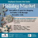 ClaySpace Holiday Market