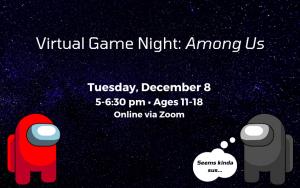 Virtual Game Night: Among Us!