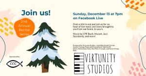 Winter Recital: CPE Bach, Mozart, Jazz Standards