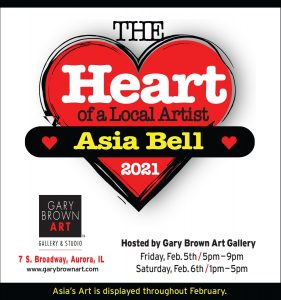 Asia Bell at Gary Brown Art Gallery