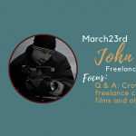 John Klein - Q&A: Crowd Funding Film Projects, Working as a Freelance Cinematographer, Producing and Directing Films and Other Types of Media and Distribution