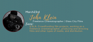 John Klein - Q&A: Crowd Funding Film Projects,...