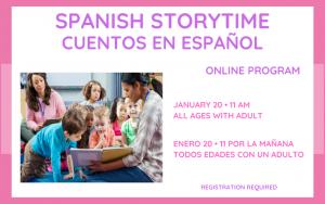Spanish Storytime/Cuentos en Español
