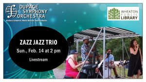 Sunday Serenade Series - ZAZZ Jazz Trio