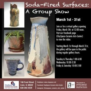 Soda-Fired Surfaces: A Group Show