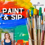 Paint and Sip: Sipping in the Rain