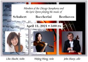 """Chicago Strings"" Schubert Boccherini & Beethoven"