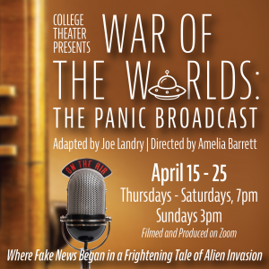 "COD College Theater: ""War of the Worlds: The Panic..."